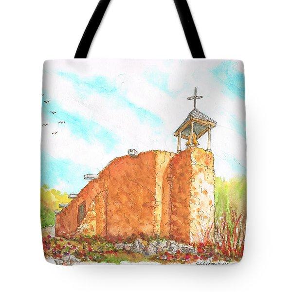 Morada De La Conquistadora Chapel, Santa Fe, New Mexico Tote Bag