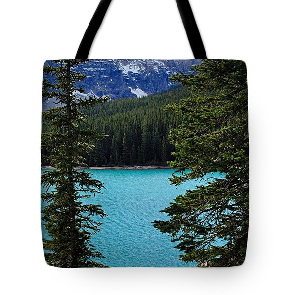 Moraine Lake 3 Tote Bag