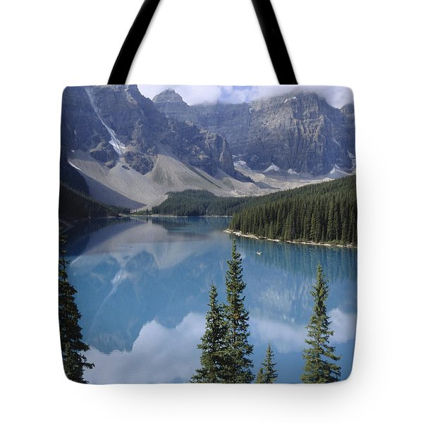Moraine Lake Canada Tote Bag