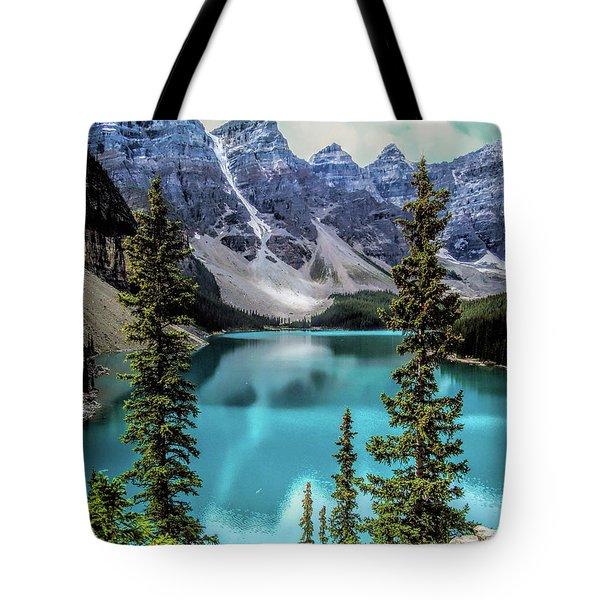 Moraine Lake Tote Bag