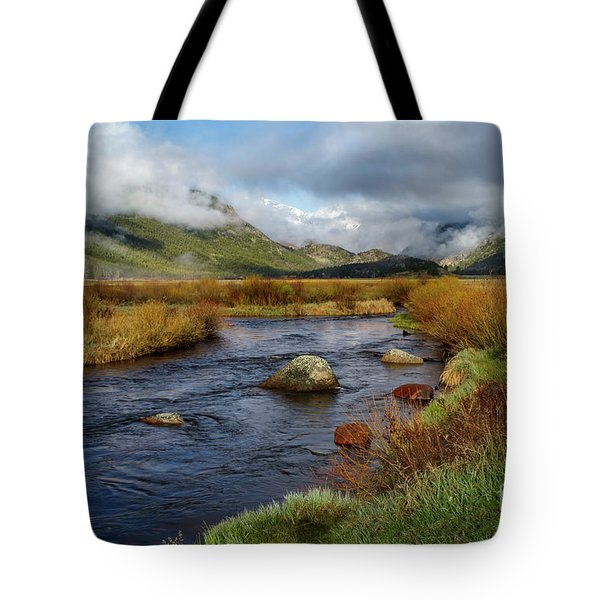 Moraine Park Morning - Rocky Mountain National Park, Colorado Tote Bag by Ronda Kimbrow