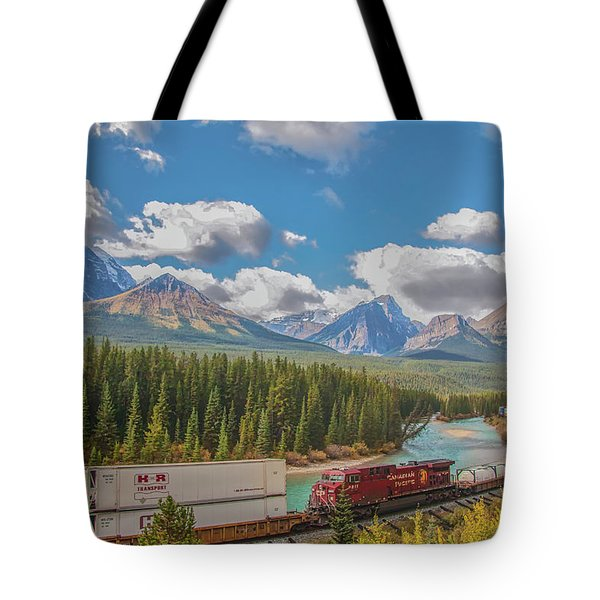 Tote Bag featuring the photograph Morant's Curve 2009 04 by Jim Dollar