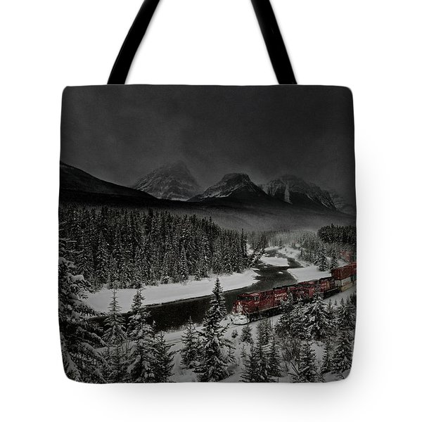 Morant's Curve At Night Tote Bag