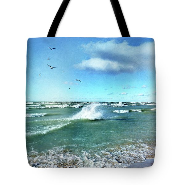 More Beautiful Than Yesterday Tote Bag by Kathi Mirto