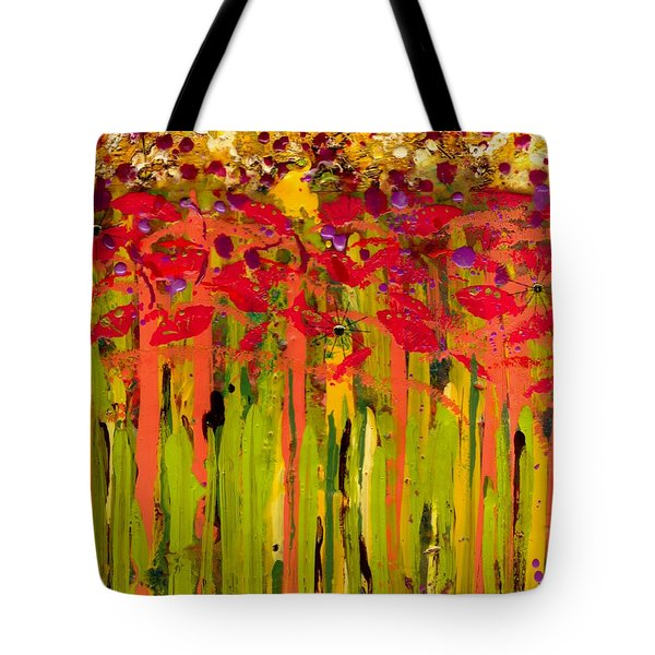 More Flowers In The Field Tote Bag