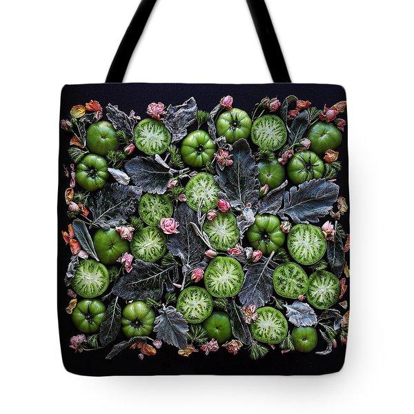 More Green Tomato Art Tote Bag