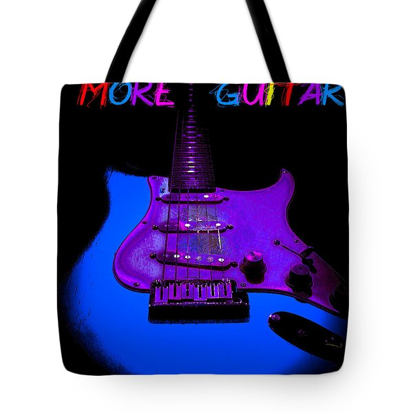 More Guitar Less Homework Tote Bag