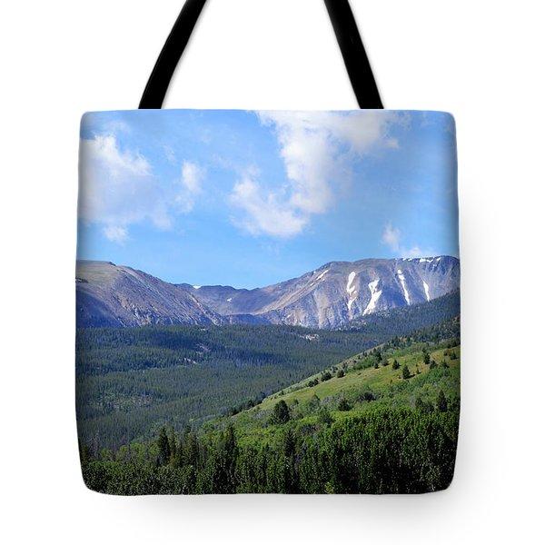 More Montana Mountains Tote Bag