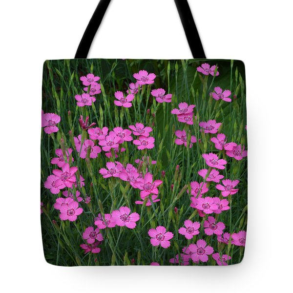 Tote Bag featuring the photograph More Pink Flowers 2  by Lyle Crump