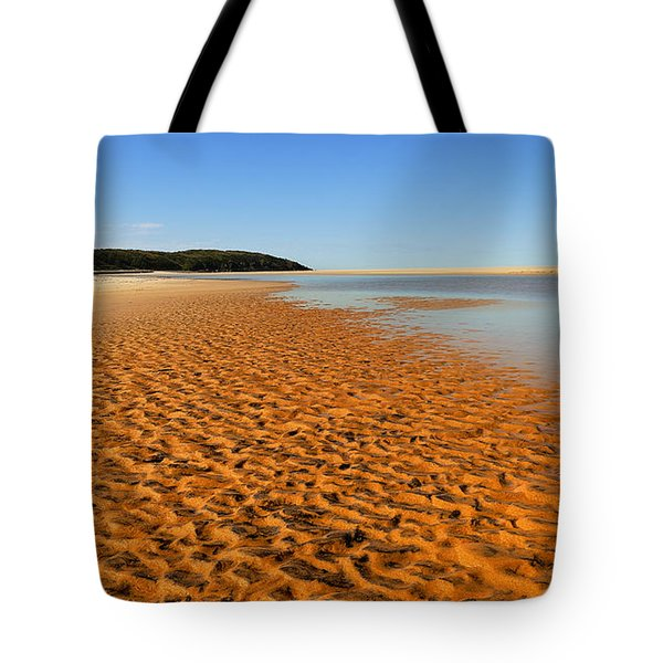 Tote Bag featuring the photograph More Sand 01 by Kevin Chippindall