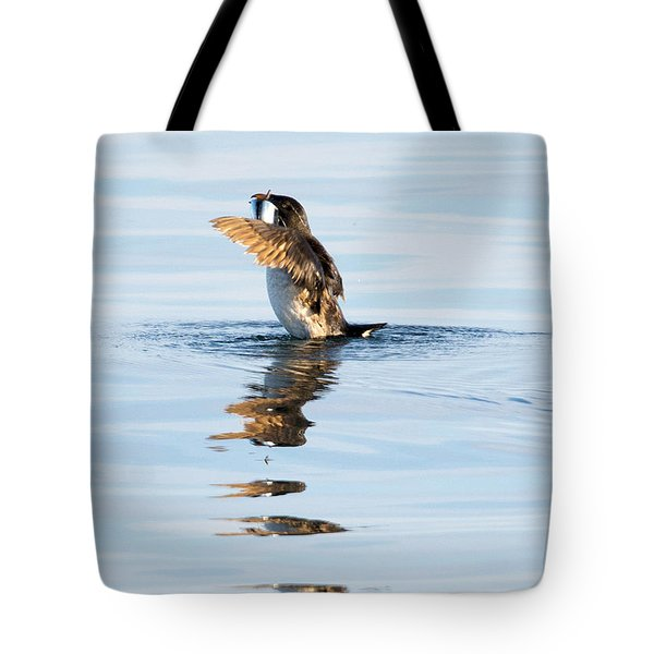 More Than A Mouthful Tote Bag by Mike Dawson