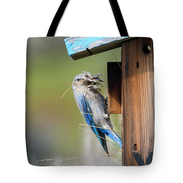 Tote Bag featuring the photograph More Than Mouthful by Mike Dawson