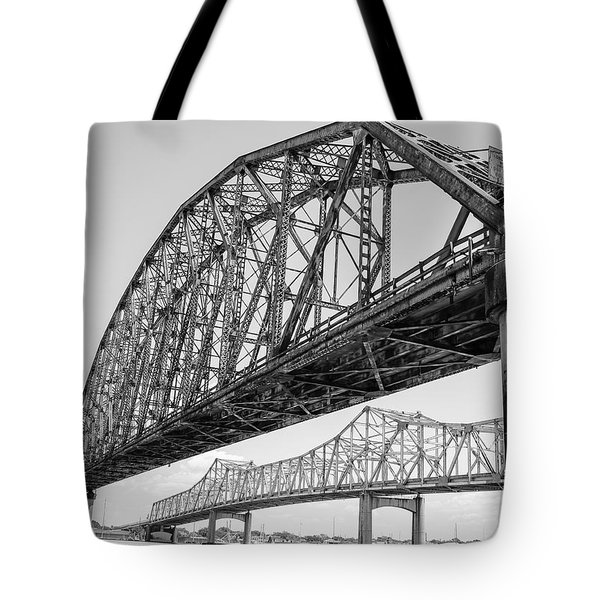 Morgan City Bridges 1 Tote Bag