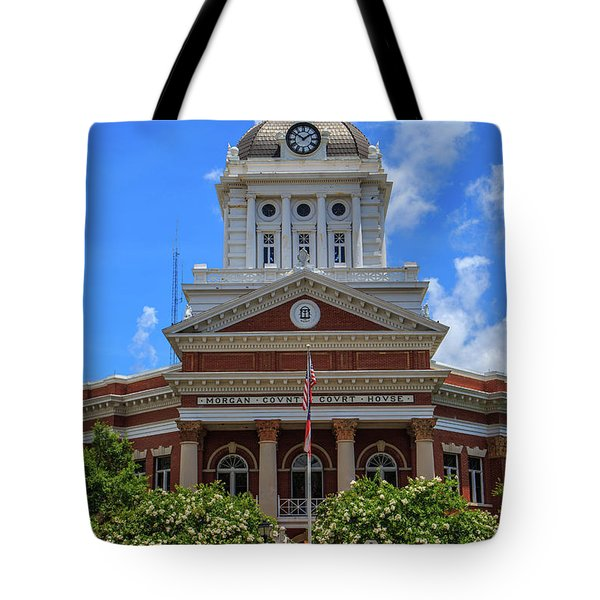 Morgan County Court House Tote Bag