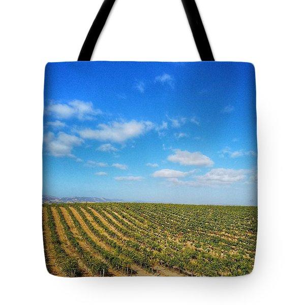 Morgan Hill Vinyard Tote Bag
