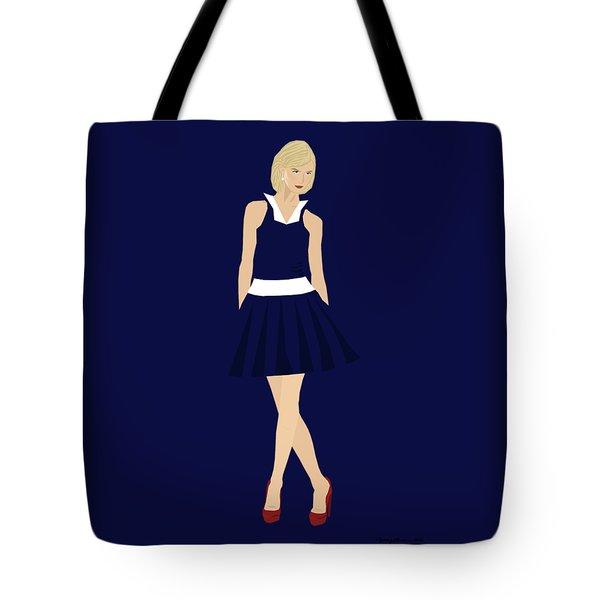Tote Bag featuring the digital art Morgan by Nancy Levan