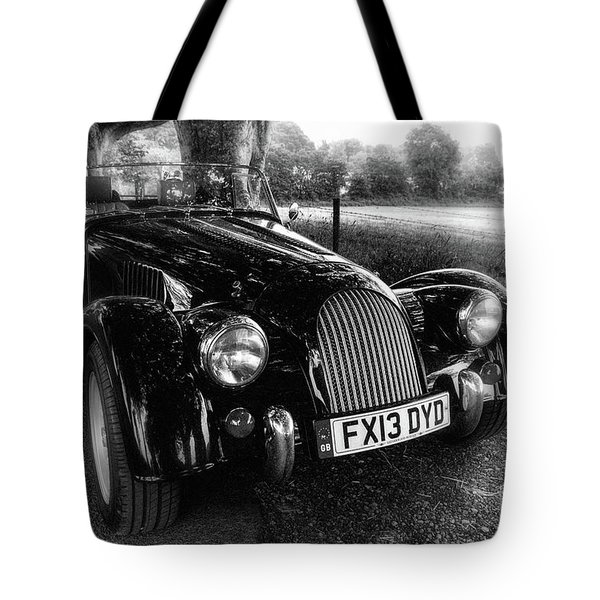 Morgan On King's Road, Ireland Tote Bag