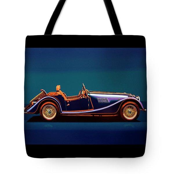 Morgan Roadster 2004 Painting Tote Bag