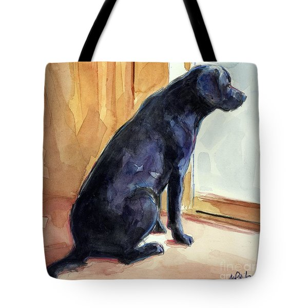 Morgan's View Tote Bag by Molly Poole