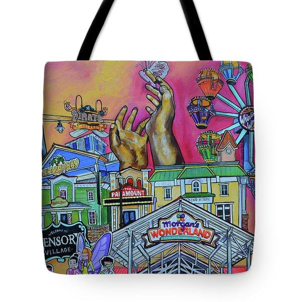 Morgans Wonderland Tote Bag by Patti Schermerhorn