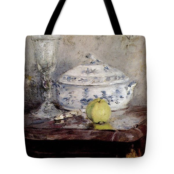 Morisot Berthe Tureen And Apple Tote Bag
