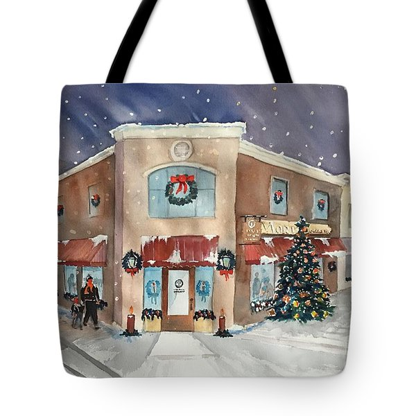 Morkes Christmas 2017 Tote Bag