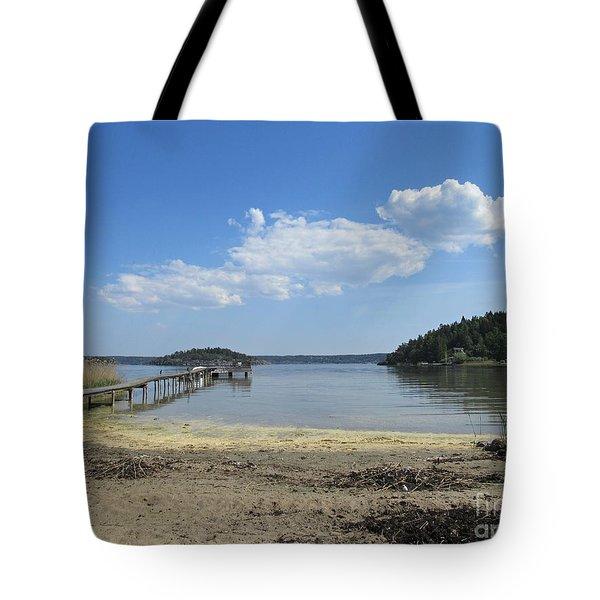 Aspvik On Morko Island Tote Bag