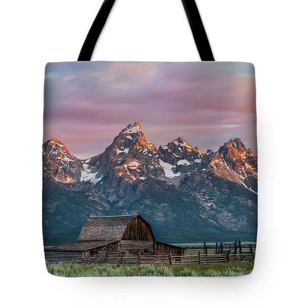 Mormon Row Tote Bag