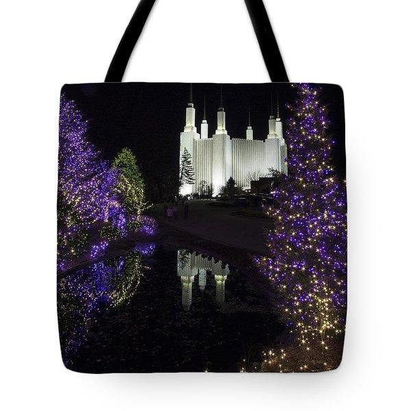 Mormon Temple 1 Tote Bag