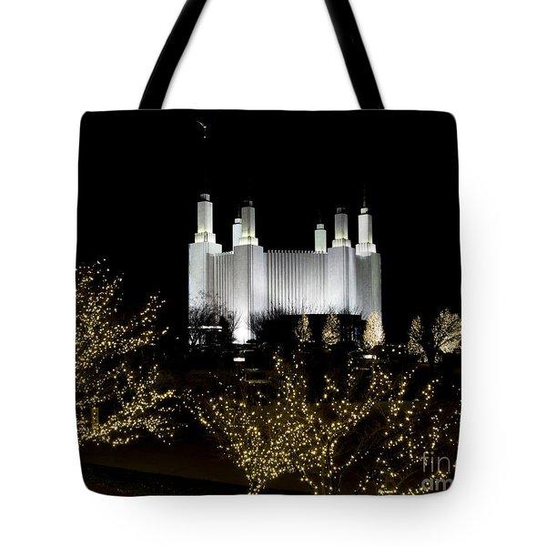 Mormon Temple 2 Tote Bag