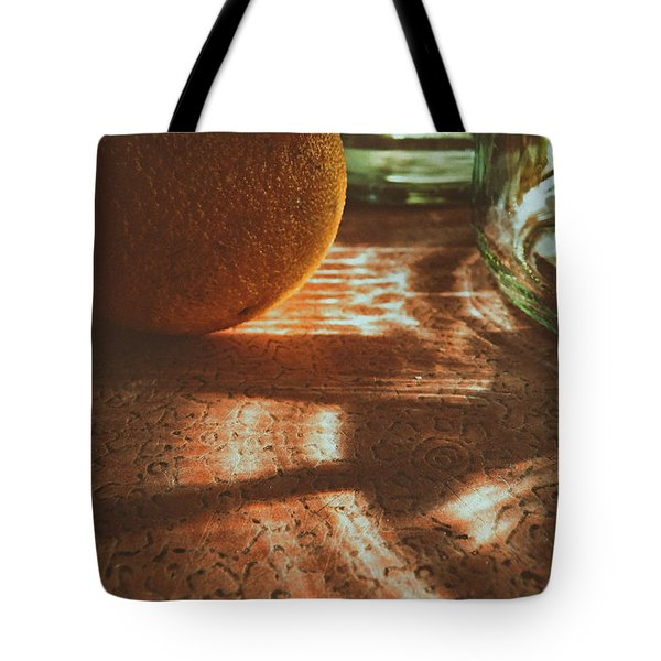 Morning Detail Tote Bag