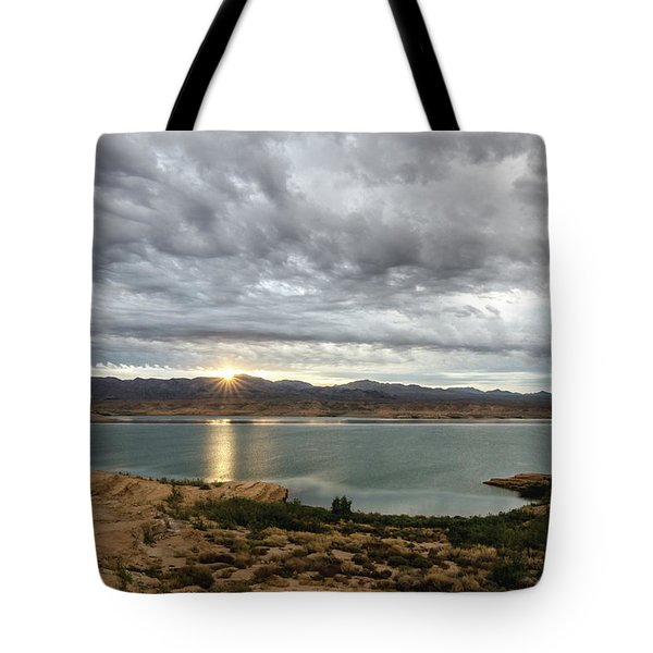 Morning After The Storm Tote Bag