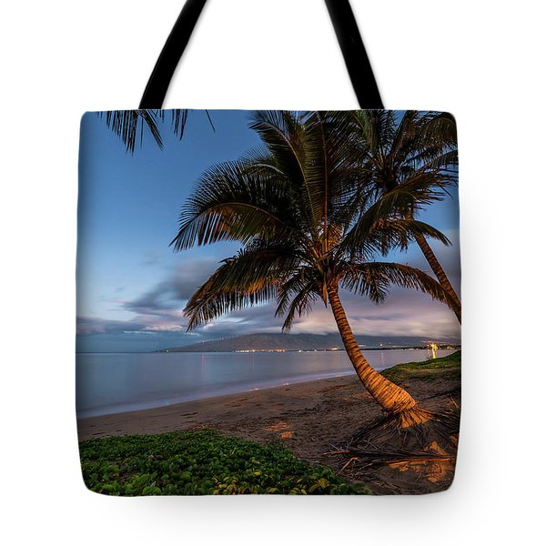 Tote Bag featuring the photograph Morning Aloha by Pierre Leclerc Photography