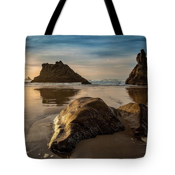 Morning Among The Chess Pieces Tote Bag