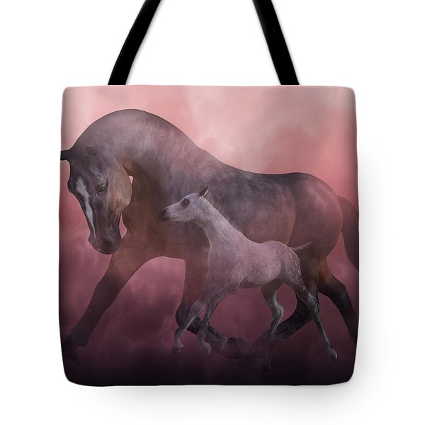 Morning And Dawn Tote Bag