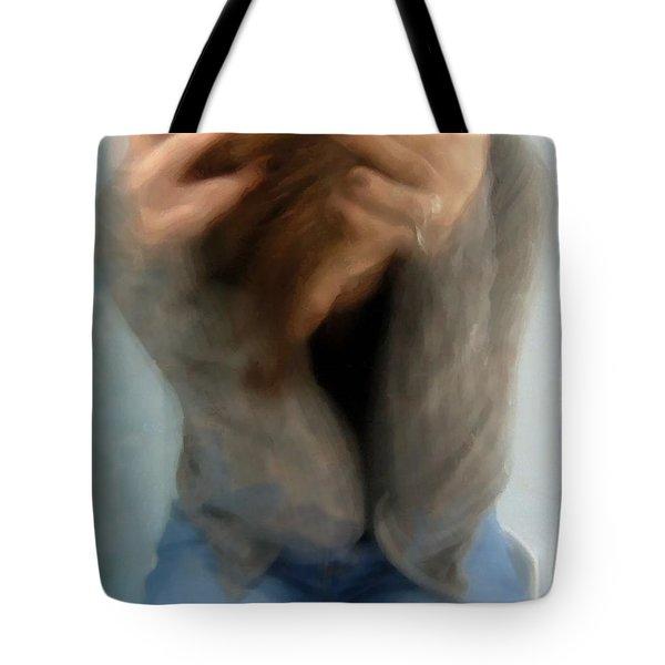 Morning Anxiety Tote Bag by Gun Legler