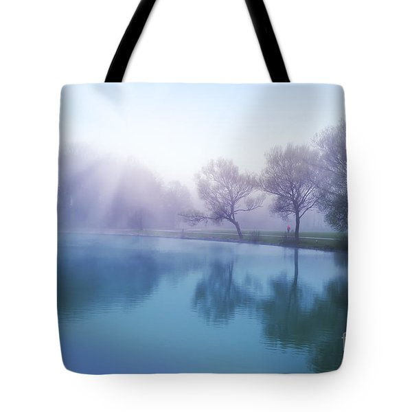 Tote Bag featuring the photograph Morning by Ariadna De Raadt
