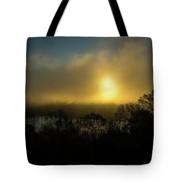 Tote Bag featuring the photograph Morning Arrives by Karol Livote