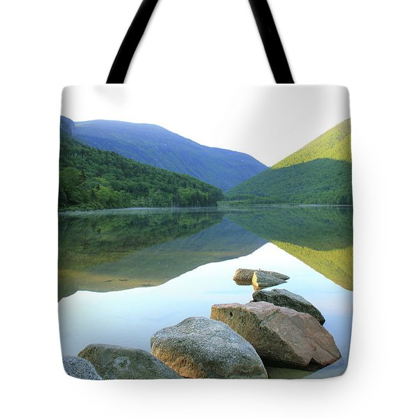 Morning At Echo Lake Tote Bag by Roupen  Baker