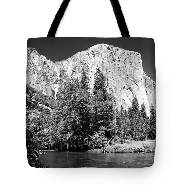 Tote Bag featuring the photograph Morning At El Capitan by Sandra Bronstein
