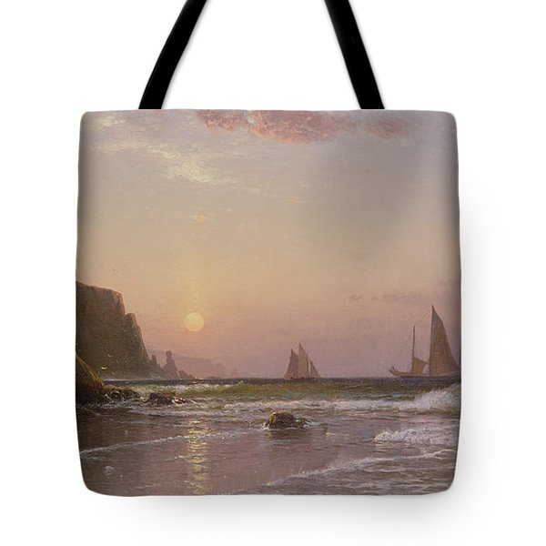 Morning At Grand Manan Tote Bag by Alfred Thompson Bricher