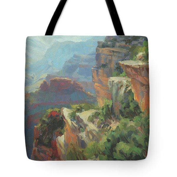 Morning At Hopi Point Tote Bag