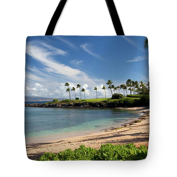 Morning At Kapalua Bay Tote Bag
