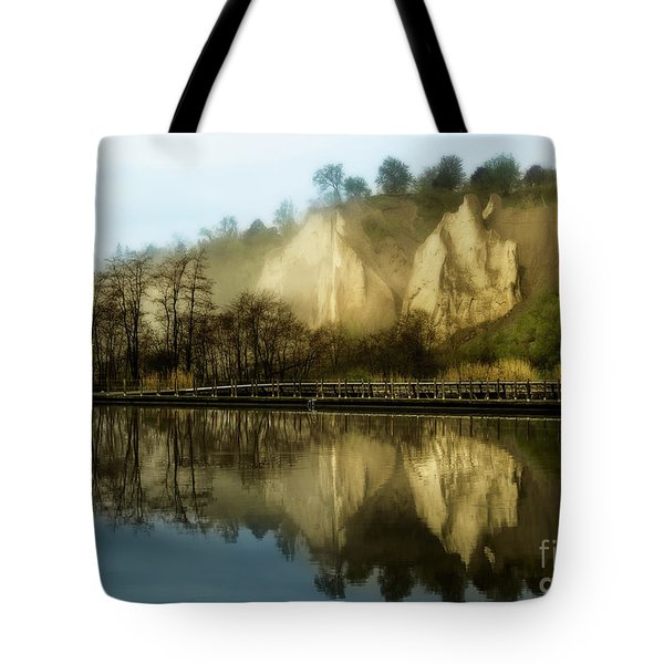 Morning At The Bluffs Tote Bag