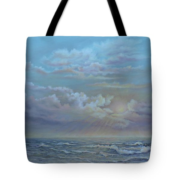 Morning At The Ocean Tote Bag