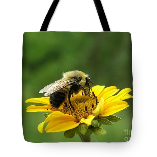 Morning Bee Tote Bag by Susan  Dimitrakopoulos