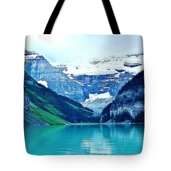 Morning Blue Tote Bag