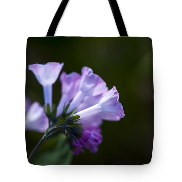 Morning Bluebells Tote Bag