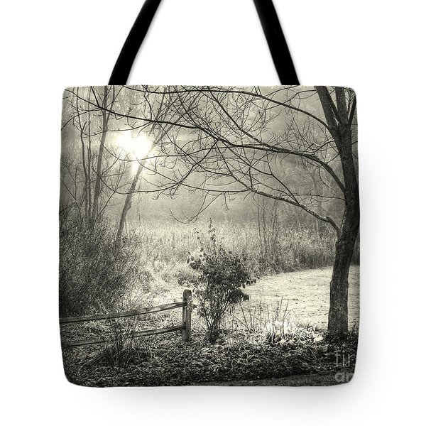 Morning Breaking Tote Bag by Betsy Zimmerli