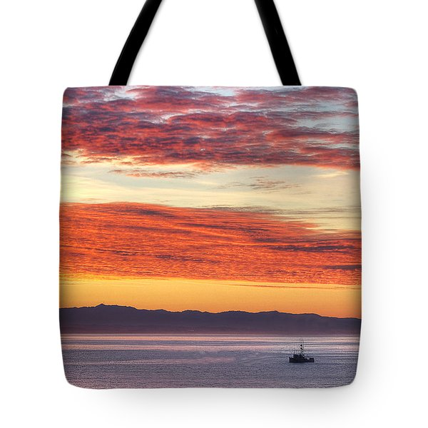 Morning Catch 2 Tote Bag